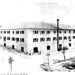 Το εργοστάσιο Ασπιώτη στην Πόρτα Ρεμούντα (στο κτίριο του σημερινού 2ου Γυμνασίου)