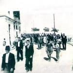 Κέρκυρα Πρωτομαγιά 1945: Η πορεία στα Μουράγια (συλλογή Στέφανου Ριζικάρη)
