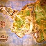 Σχέδιο των οχυρώσεων της Κέρκυρας, τέλη 16ου αι.