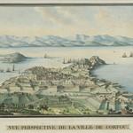 Άποψη της πόλης της Κέρκυρας, 1817