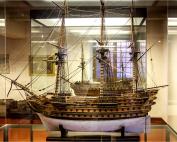Πλοίο της γραμμής Α΄ τάξης(Nαυτικό Mουσείο Βενετίας)