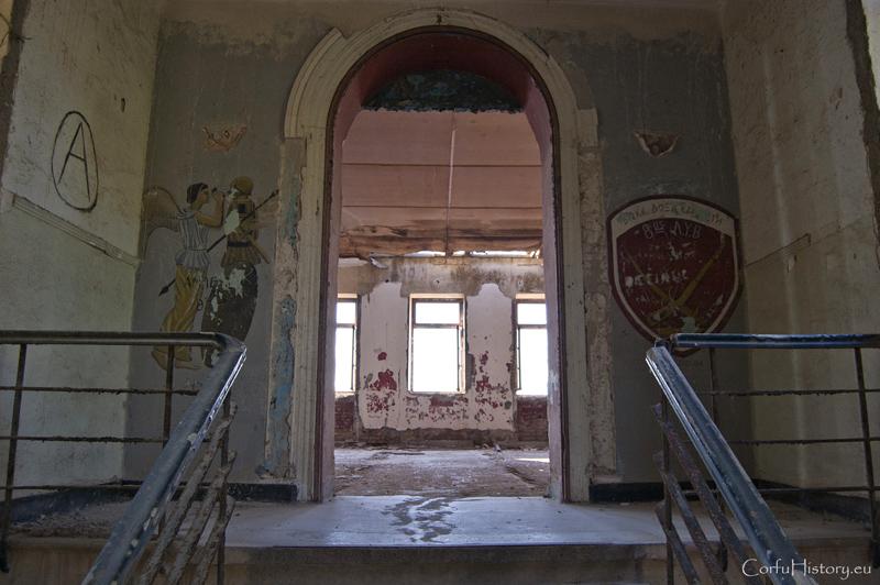 Το αγγλικό νοσοκομείο στο Παλιό Φρούριο της Κέρκυρας