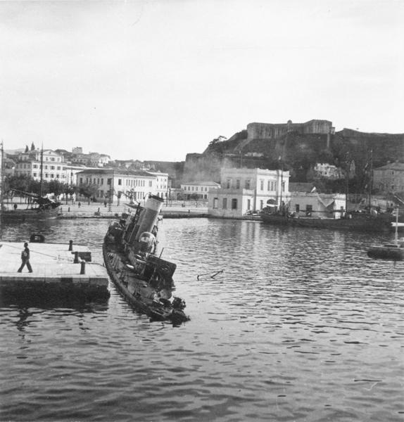 Το τέλος του τορπιλοβόλου «Προύσσα» – Κέρκυρα 1941