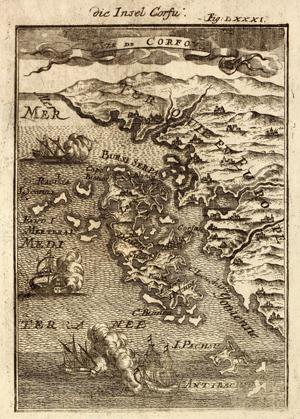 Alain Manesson Mallet - Die Insel Corfu