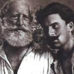 Αριστερά ο Μάρκος και δεξιά ο Σπύρος Θεοτόκης