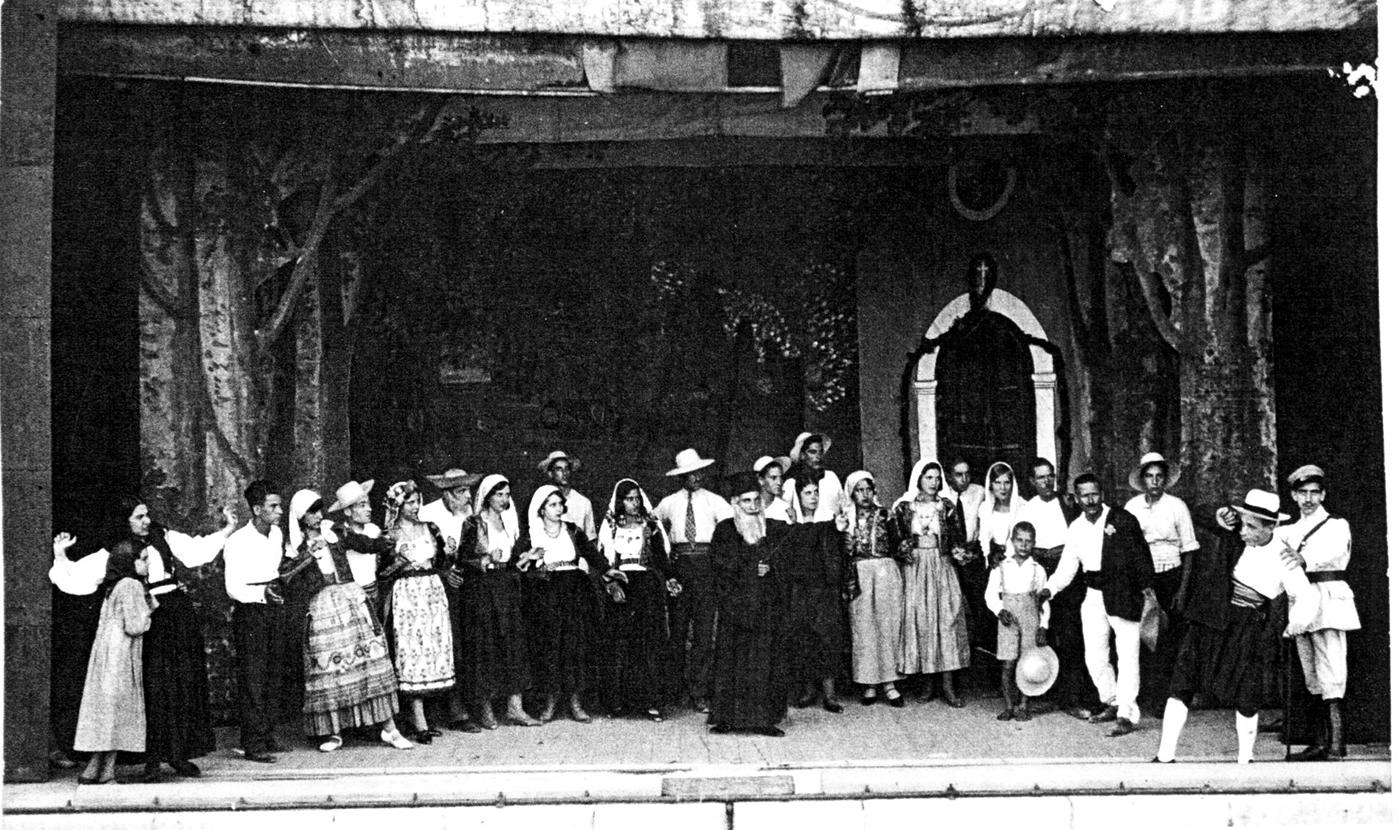 """23 Αυγούστου 1931:. Πρεμιέρα της όπερας """"Η κόρη του φονιά"""""""