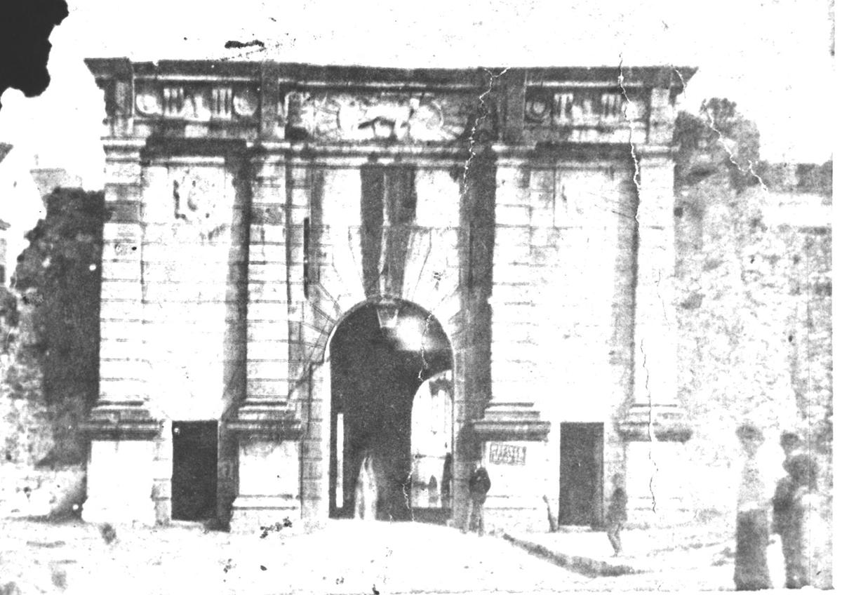 Porta Reale, η κυριότερη πύλη των βενετικών τειχών της πόλης