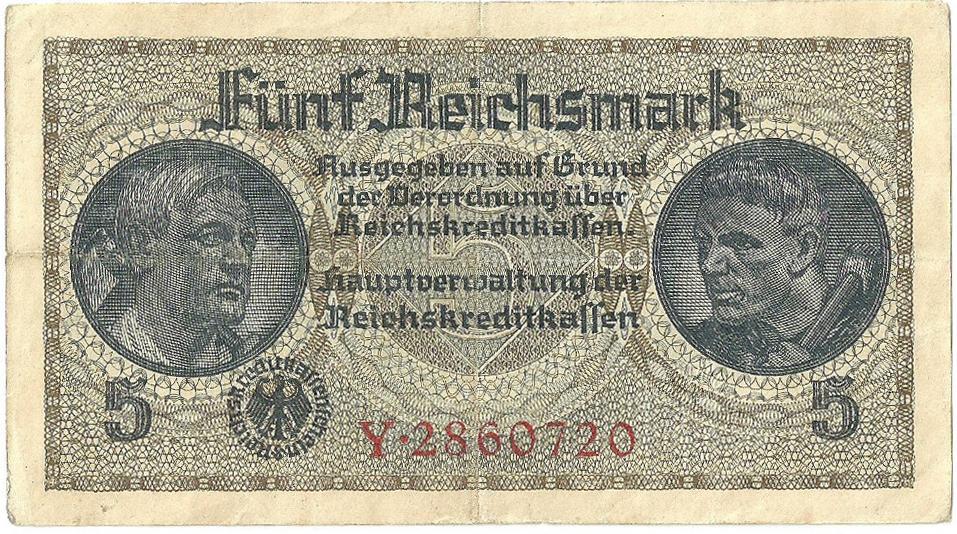 Γερμανικό κατοχικό μάρκο