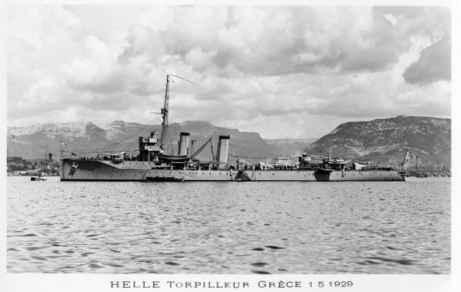 Το ΕΛΛΗ στο ναύσταθμο της Τουλών το 1929