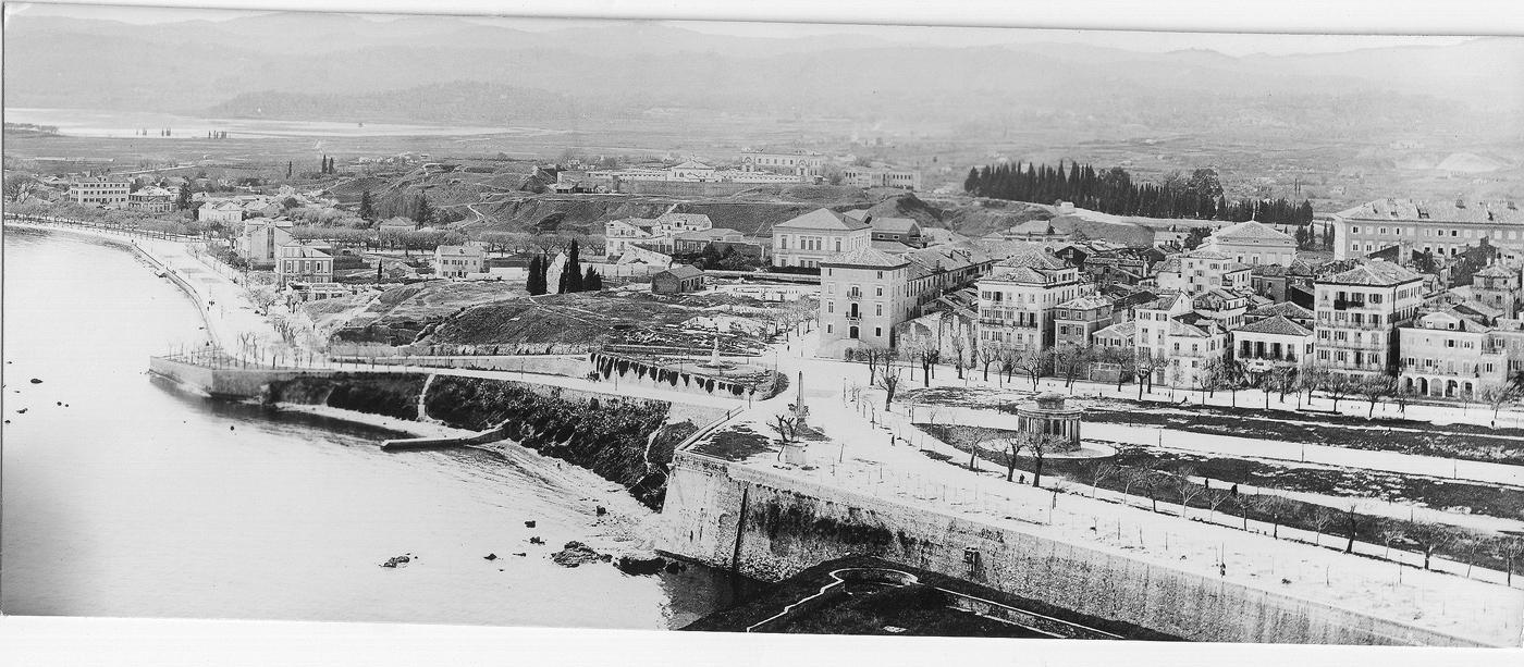 Μερική άποψη της Γαρίτσας στα τέλη του 19ου αιώνα